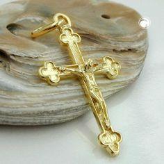 Anhänger, Kreuz mit Jesus, 14Kt GOLD Dreambase, http://www.amazon.de/dp/B00H2IJFDQ/ref=cm_sw_r_pi_dp_LZnhtb0GR2PVE