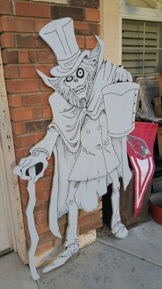 Hatbox Ghost Lifesize #halloween #disney