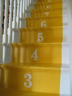 DIY Projects for Painting Stairs