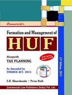 Formation & Management of HUF