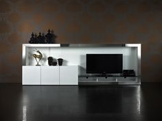 big entertainment wall   939 Wallunit White in Australia