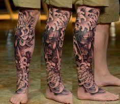 Japanese tattoo hanyamask www.mimptattoo.com Bangkok,thailand