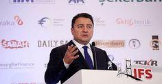 Babacan:  Büyüme beklentimiz olumlu  Başbakan Yardımcısı Ali Babacan, Babacan, 5. İstanbul Finans Zirvesi'nde gündemdeki konulara ilişkin soruları yanıtladı.  http://www.portturkey.com/tr/uzman-gorusu/48215-babacan-buyume-beklentimiz-olumlu