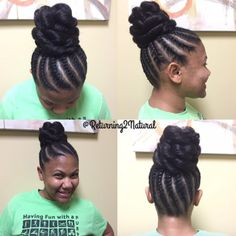 Cute! by @returning2natural - Black Hair Information