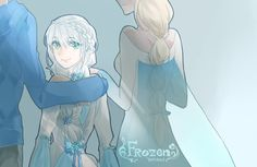 Jack Frost And Elsa frost daughter