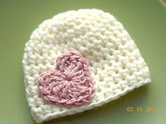 New Valentines Crochet Hats in the Shop