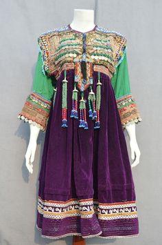Vintage Kuchi Afghan Ethnic Tribal Nomaden Belly dancing Jewellery Costume JB-17