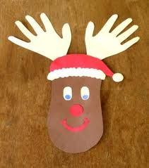 kids christmas crafts - Yahoo Image Search Results Rendeer Hands Christmas Crafts For Toddlers, Toddler Christmas, Easy Crafts For Kids, Christmas Activities, Toddler Crafts, Crafts To Do, Holiday Crafts, Christmas Holidays, Christmas Ideas