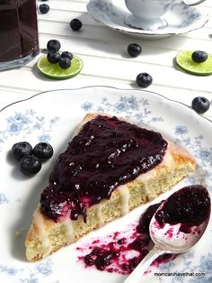 Blueberry-Lime Chia Seed Jam | easy to make and low carb, sugar-free, and Paleo | lowcarbmaven.com