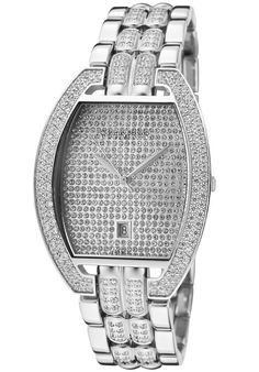 Price:$279.99 #watches Christian Bernard MA569ZZAW, Design Michael Kors Watch, Sling Backpack, Bling, Christian, Wrist Watches, Silver, Bags, Accessories, Color