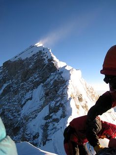 Everest Expedition Coverage with International Mountain Guides Countryside Landscape, Mountain Landscape, Mountain Climbing, Rock Climbing, Snow And Rock, Alpine Mountain, Hills And Valleys, Places Around The World, Around The Worlds