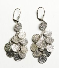 Stamped Circle Earrings  http://www.noondaycollection.com/earrings