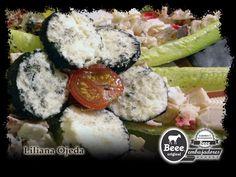 Ensalada de surimi con contrastes frutales y queso de cabra beee por nuestra embajadora Liliana Ojeda.