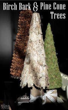 DIY Rustic Birch Bark Monogram Birch Bark Barking FC And Birch - Beautiful diy birch bark lamp