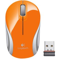 Logitech M187 - Mini Mouse Sem Fio Wireless 2.4ghz com Nano Receptor 1000dpi…
