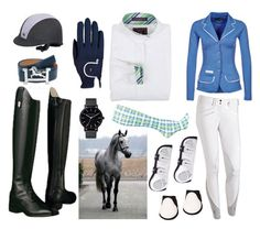"""""""Show Jumper Entry"""" by thegalloptogreatness on Polyvore featuring Ariat, Roeckl, Beacon and The Horse"""