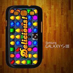 IR1028 Delicious Candy Crush Samsung Galaxy S3 case | statusisasi - Accessories on ArtFire