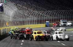 Racing against my brothers in Charlotte in Legends Cars sponsored by iBRowdie.com