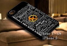 The hunger game quote for iPhone case-iPhone 4/4s/5/5s/5c case cover-Samsung Galaxy S3/S4/ case cover
