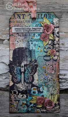 the doghouse: tim holtz - 12 tags of 2016 - may