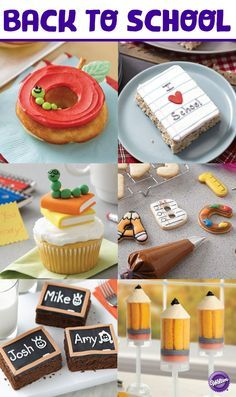 Make Back to School time extra sweet with these fun recipes and projects for your star students!  Check out the Wilton Back to School board for lots of ideas from Wilton and A.C. Moore