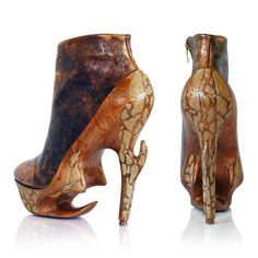 Fantasy, Dystopia and Shoes by Anastasia Radevich