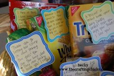 gift basket for crafters - Google Search