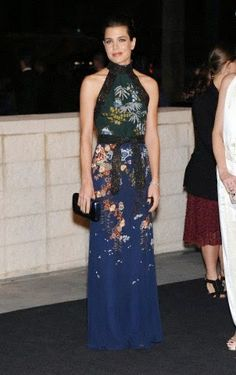 Charlotte Casiraghi arriving to the 2014 LACMA Art & Film Gala in Los Angeles on 01.11.2014