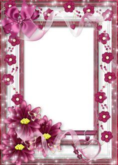pink frame | png frame: pink png frame