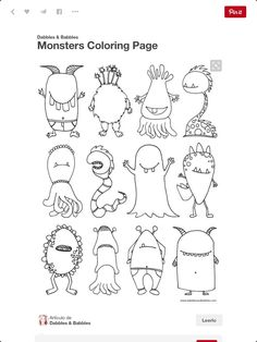Monsters activity