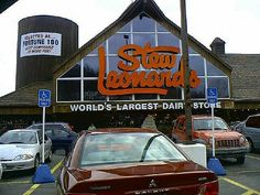 Stew Leonards!  Holy Shit, I tried to explain to my friends in KS about this grocery store.  If the one in New Milford still there?