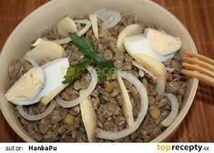Čočkový salát s jablkem Beef, Food, Meat, Essen, Meals, Yemek, Eten, Steak