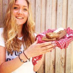 Rens Kroes: Een overheerlijk, gezond en glutenvrij bananenbrood.
