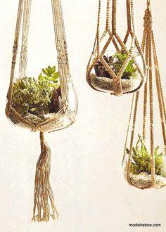 Roost Jute Hanging Planters