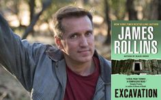 And then I was hooked...James Rollins - Best adventure author. (My opinion)