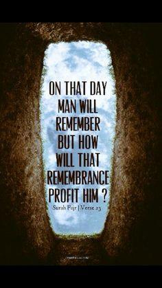 Qu'ran 89:23