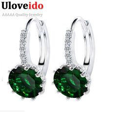 Find More Stud Earrings Information about Silver Plated Jewelry Women's Earrings Wedding Vintage Earring with Stones Anel Unique Girl Gifts for Women 2016 Fashion DML49,High Quality earrings ear,China earrings sapphire Suppliers, Cheap earrings board from D&C Fashion Jewelry Buy to Get a Free Gift on Aliexpress.com