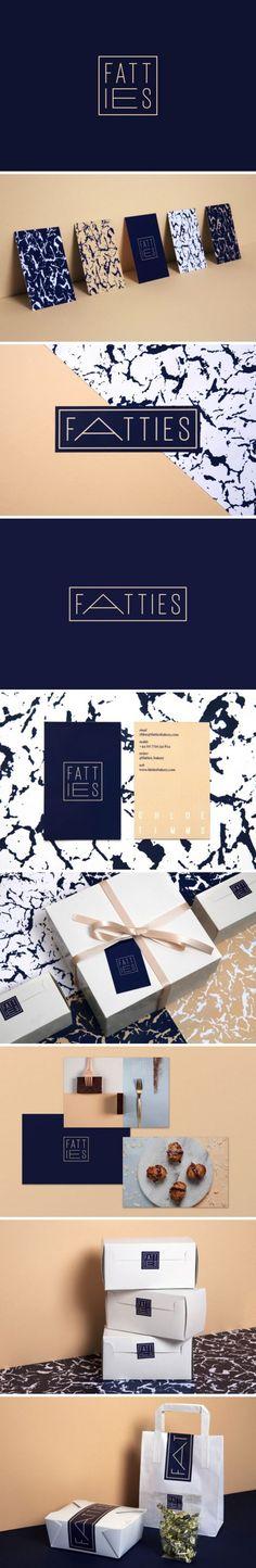 Fatties烘焙店VI形象设计