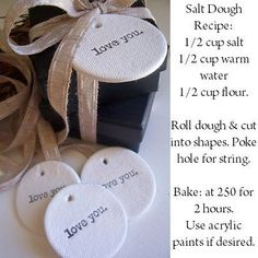 Incredible Things to Make with Salt Dough - How Wee Learn - - Salt dough is the best! There are so many things to make with salt dough. Here is an incredible list of ideas for creating projects with kids! Homemade Clay, Diy Clay, Homemade Gifts, Felt Christmas Decorations, Diy Christmas Ornaments, Homemade Ornaments, Homemade Christmas, Christmas Ideas, Salt Dough Crafts