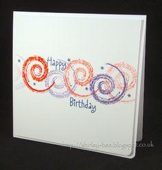 shirley-bee's stamping stuff: Swirly Birthday