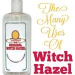 How To Make A Witch Hazel and Aloe Hand Sanitizer