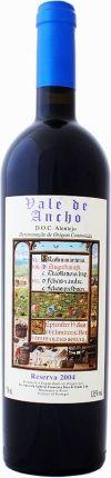 Vale Do Ancho  ' Reserva '  Tinto  Disponível em www.estadoliquido.pt