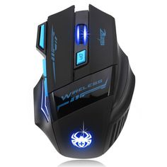 Adjustable For Pro Gamer 2400DPI Optical Wireless Gaming Mouse Gamer For Laptop PC Computer Accessories Top Quality