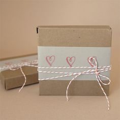 Valentine's gift wrapping