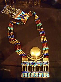 King Tutankhamun Tomb necklace   Recent Photos The Commons Getty Collection Galleries World Map App ...