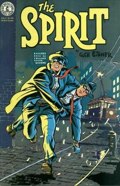 The Spirit #04 Cover - Will Eisner