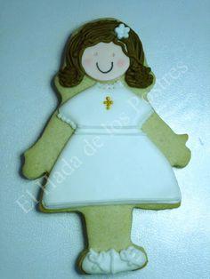 Unas galletitas de muñecas muy  finas.