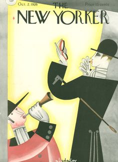 The New Yorker - Saturday, October 2, 1926 - Issue # 85 - Vol. 2 - N° 33 - Cover by : Constantin Alajalov