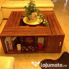 Măsuță de cafea din stejar Decor Ideas, Coffee, Table, Furniture, Home Decor, Coffee Cafe, Kaffee, Tables, Home Furnishings