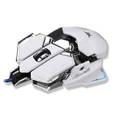 Introducing Kshion Fashion New Arrival 4800DPI Optical USB Wired Gaming Mouse Mice For Windows Mac OS PC White. Great product and follow us for more updates!
